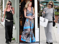 Kate Moss prefiere las faldas largas