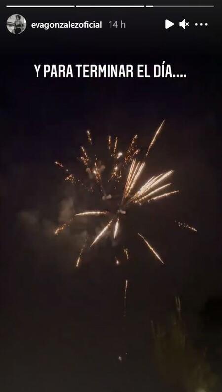 Cumpleaños fuegos artificiales