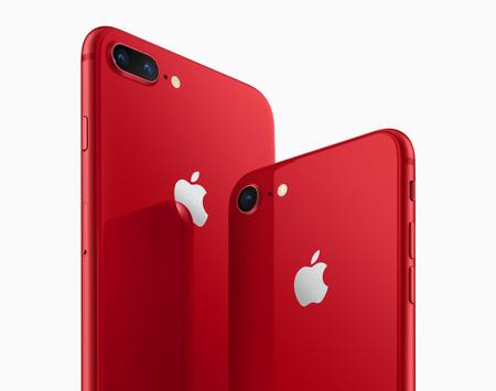 iPhone 8 y 8 Plus (PRODUCT)RED, el nuevo iPhone en color rojo para ayudar a la lucha contra el VIH se podrá comprar en México