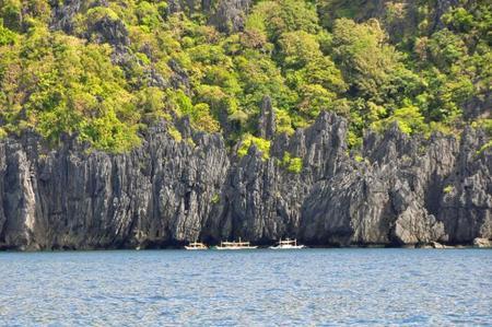 Barcas en El Nido