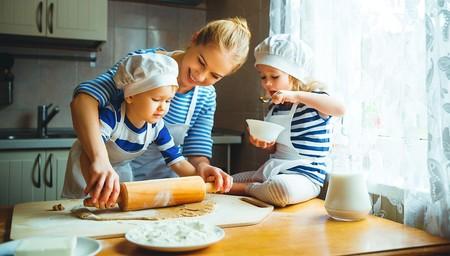 Las cinco reglas para cocinar con niños
