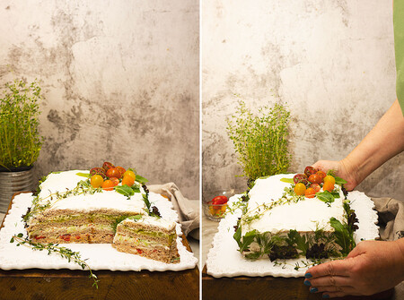 Collage Tarta Sandwichs