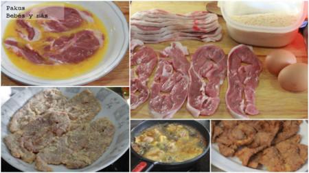 Filetes Empanados De Cordero Bebes
