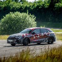 El nuevo Audi RS 3 de 400 CV estrena un inédito modo drift por primera vez en su historia