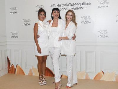 Silvia Abascal presume de embarazo y presenta las bases de maquillaje Accord Parfait de L'Oréal Paris