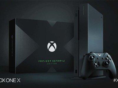 Xbox One X: 499,99 euros con entregas el 7 de noviembre y hasta edición especial 'Project Scorpio'