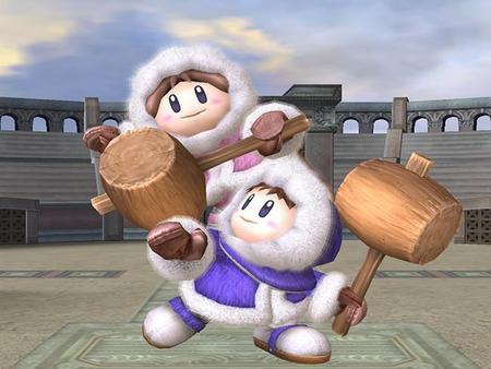 Los Ice Climbers son descubiertos en Super Smash Bros. 3DS gracias a un glitch, pero hay mas