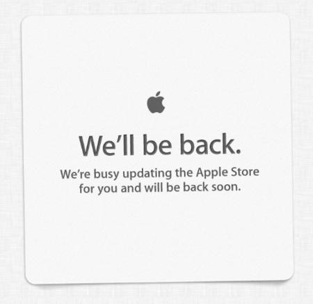 Adiós al post-it de la Apple Store cerrada, la compañía rediseña el aviso