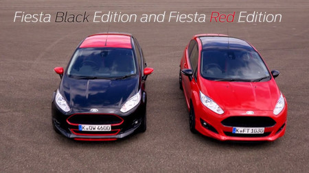 Ford Fiesta Black Edition y Red Edition