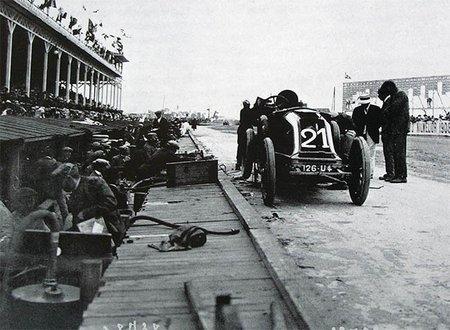 Conquistando el paraíso: Gran Premio del ACF de 1908, el final de una era (Primera parte)