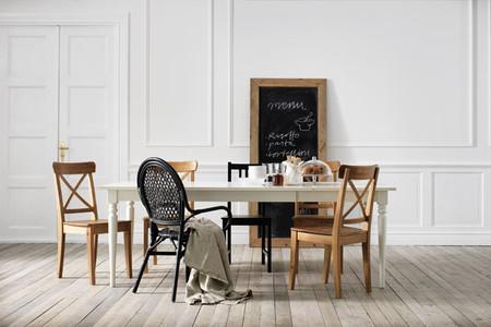 Comedor estilo nórdico catálogo Ikea 2014