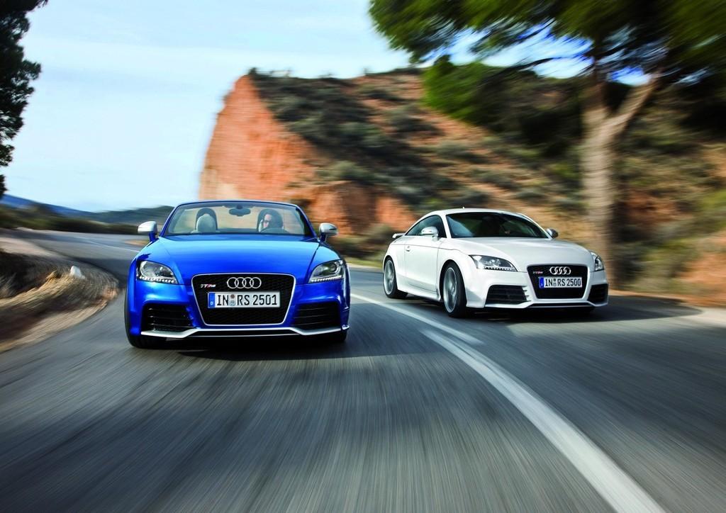 Foto de Audi TT RS, fotos oficiales (13/15)