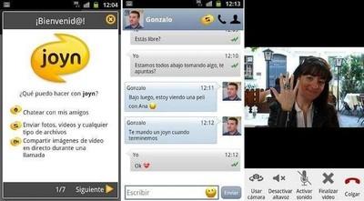 Movistar, Vodafone y Orange ya tienen listos los primeros  móviles con Joyn