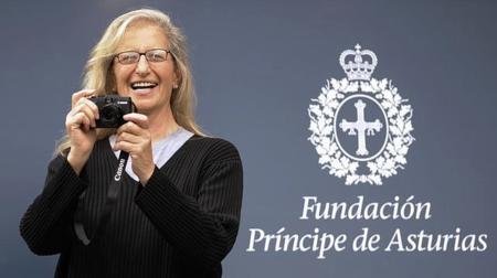 Annie Leibovitz declara su amor por la fotografía al recibir el Príncipe de Asturias
