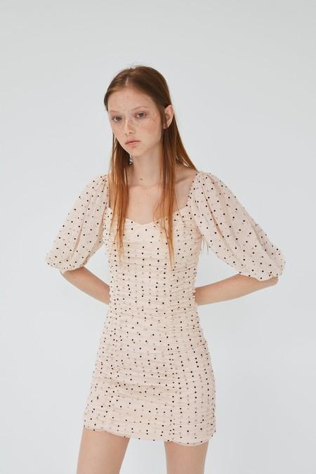Zara Trf Vestido Lunares