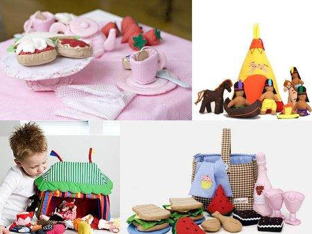 Preciosos juguetes blanditos de Oskar & Ellen