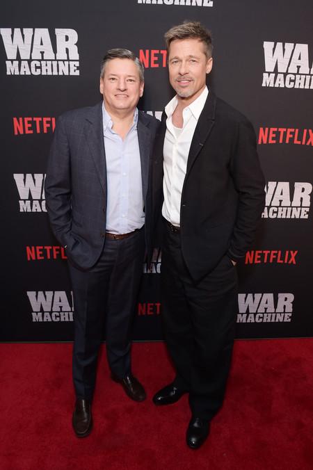 Brad Pitt Da Mala Nota Con Un Look Que Se Pasa De Descuidado En La Proyeccion De War Machine
