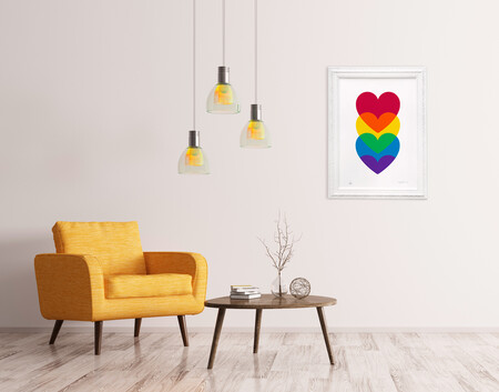 Interior Multicoloured Love Deco