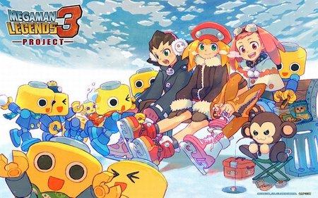 'Mega Man Legends 3 Project' cancelado