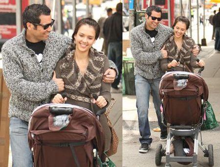 Jessica Alba va a por su segundo bebé