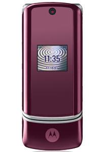 Motorola KRZR rosa