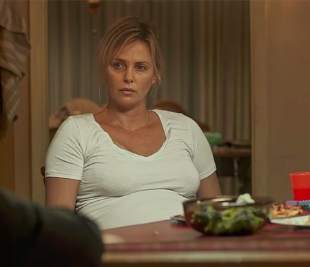 Charlize Theron Engordar Tully3