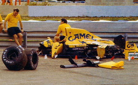 Lotus Martin Donnelly Jerez 1990