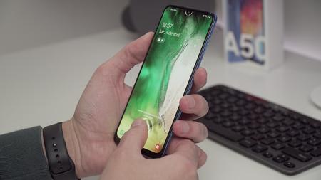 Samsung Galaxy A50 Review Xataka Lector Huella