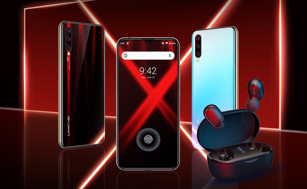 UMIDIGI X: chinesische hersteller ergänzt die mode der 48-megapixel-kamera und der fingerabdruck-lesegerät auf dem bildschirm