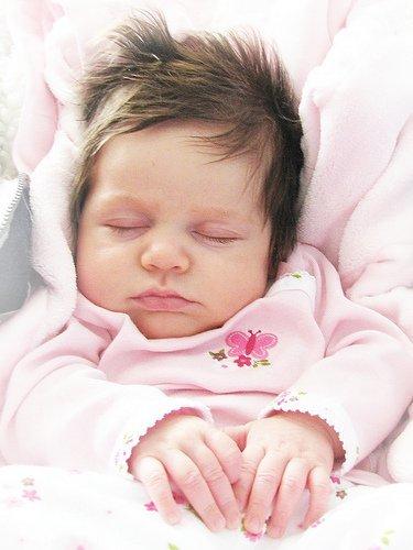 Mi bebé se duerme con el ruido del secador de pelo