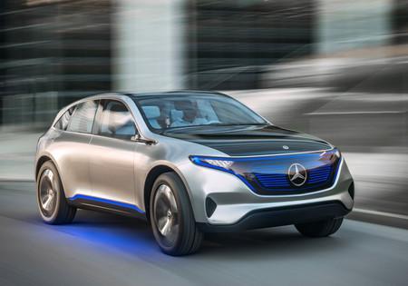 Mercedes-Benz mostrará su primer EQ de producción en Ginebra: muy probablemente el SUV eléctrico EQC