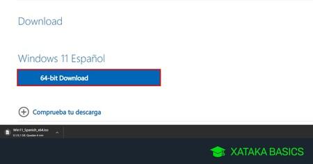 Cómo descargar la imagen ISO de Windows 11 para instalarlo desde cero en cualquier ordenador