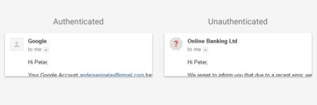 Autentificación de remitente en Gmail