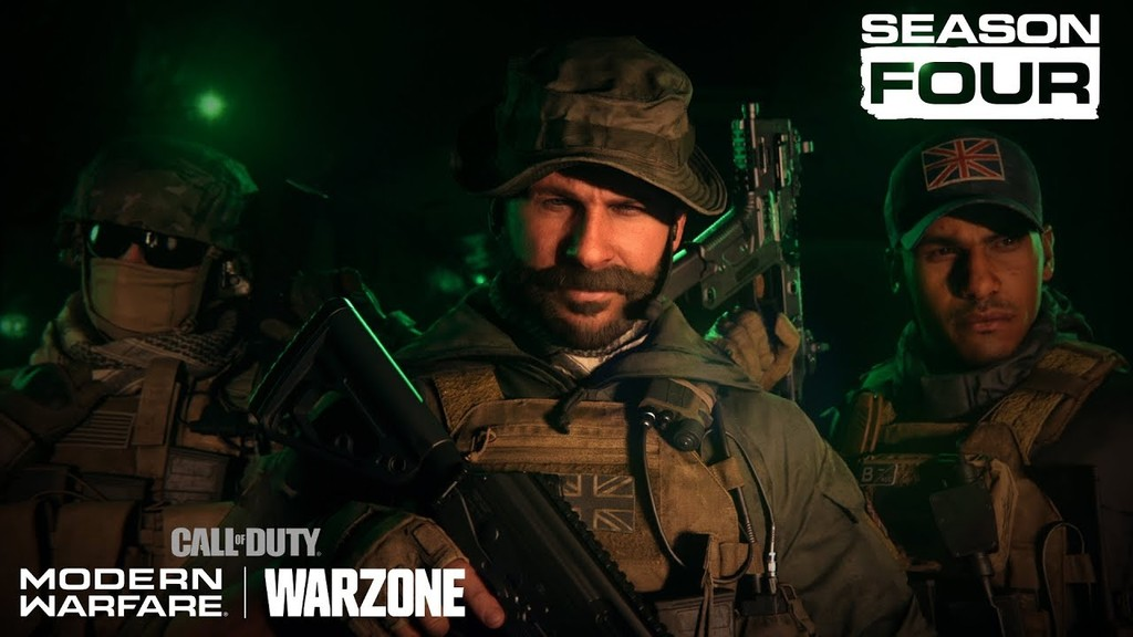 La Temporada 4 de Call of Duty: Modern Warfare y Warzone dar