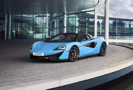 McLaren ya ha superado los 15.000 coches fabricados, en apenas siete años