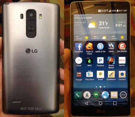¿Corresponden estas imágenes filtradas al LG G4?