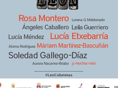 52 mujeres que el Congreso leonés de columnismo no incluyó y que podrían haber encabezado su cartel