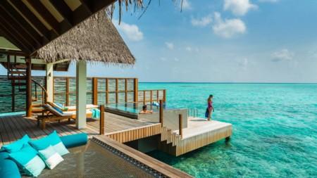 Sunset Water Villa With Pool Four Seasons Resort Maldives At Landaa Giraavaru