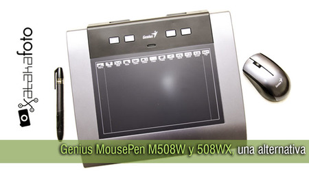 Genius MousePen M508W y 508WX, una alternativa