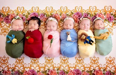 las m gicas fotograf as de bebitas reci n nacidas vestidas como princesas de disney. Black Bedroom Furniture Sets. Home Design Ideas
