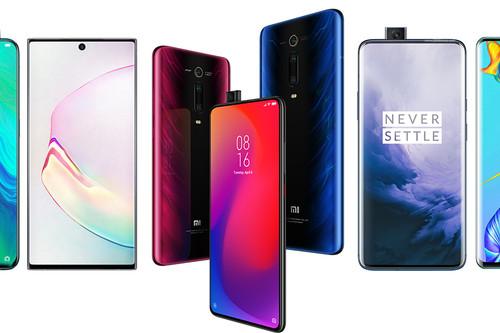 Xiaomi Mi 9T Pro, comparativa: así queda contra Huawei P30 Pro, OnePlus 7 Pro, Note 10 y resto de gama alta de Android