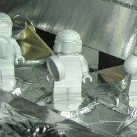 Las figuras de LEGO que viajaron al espacio