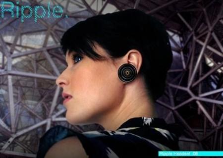 Ripple, audífonos bluetooth con forma de aretes