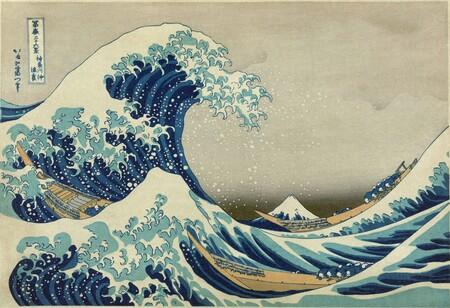 """""""La gran ola de Kanagawa"""", 1829."""