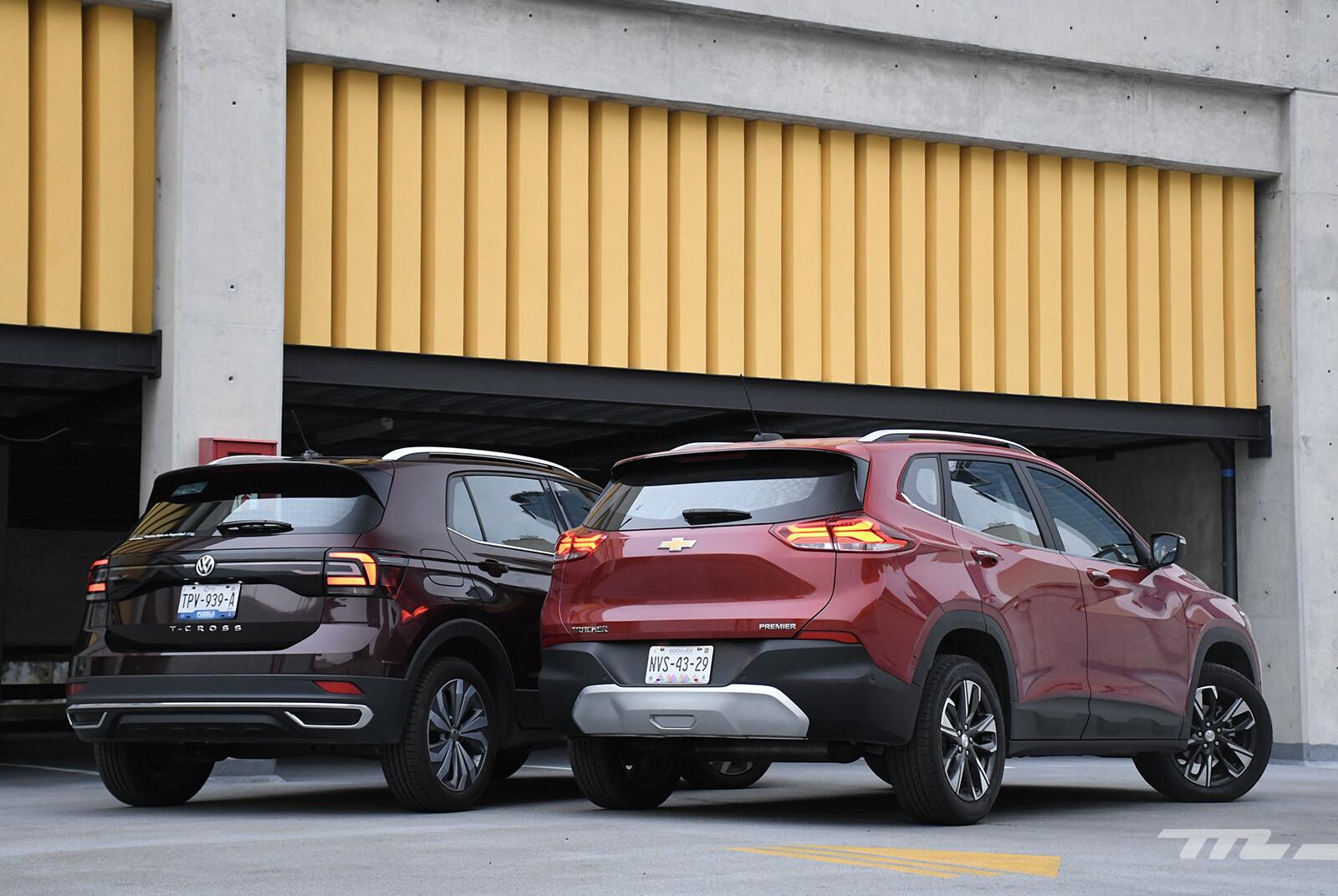 Foto de Chevrolet Tracker vs. Volkswagen T-Cross (comparativa) (2/29)