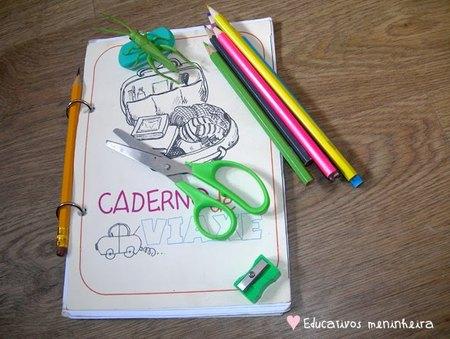 Otro recurso útil para vuestras vacaciones: el 'cuaderno de viaje para niños' de educativos Meninheira