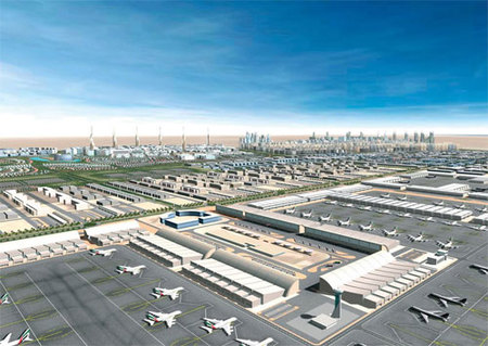 El nuevo aeropuerto de Dubai