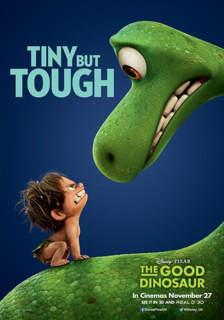 Nuevo póster de El Viaje de Arlo (The Good Dinosaur)