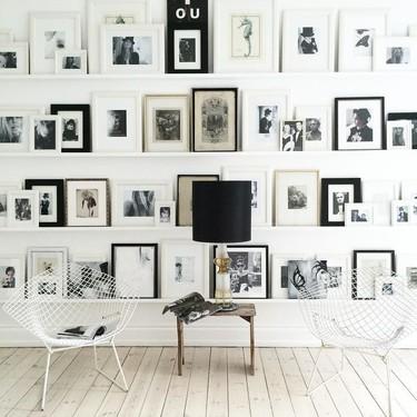 Una pared plagada de recuerdos