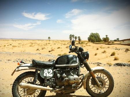 BMW Scram en Marruecos